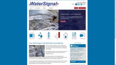 Water Signal Website Design