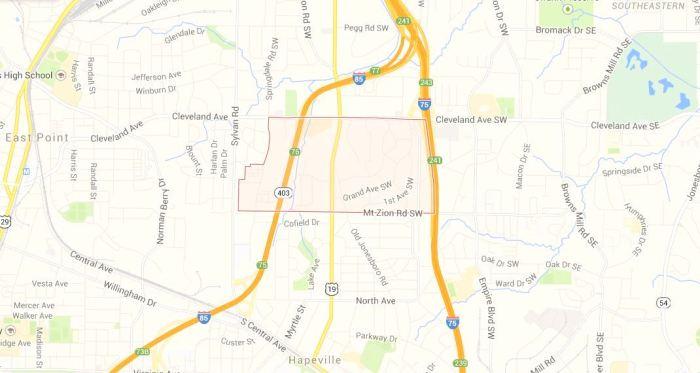 Hammond Park Map Location