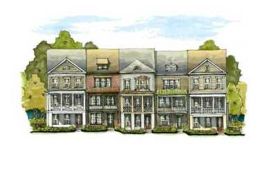 Atlanta Beltline's New Townhomes By John Wieland – Highland Park