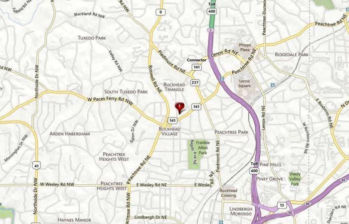 Mathieson Exchange Lofts Location