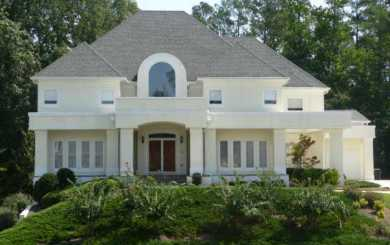 Estate Home Atlanta Cascade Falls Subdivision