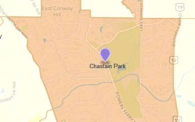 Chastain Park Atlanta Neighborhood Map