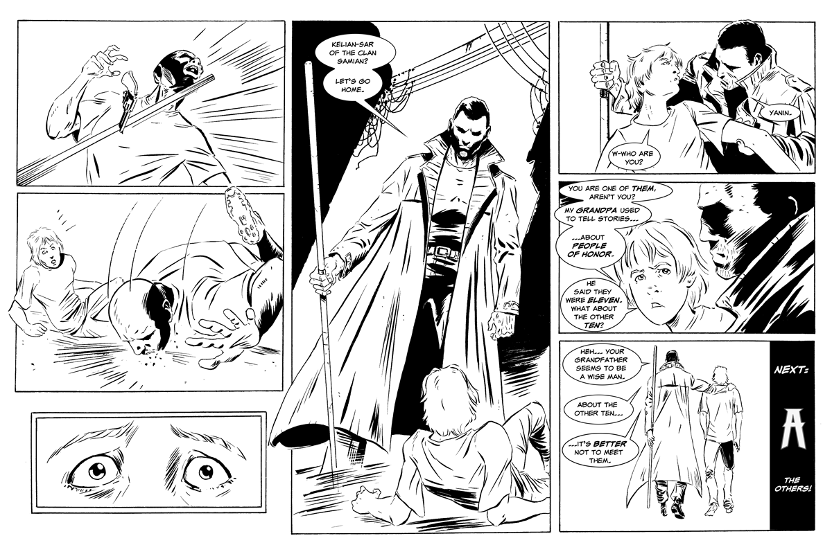 Atlante: Page #54 => People of Honor!