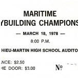 1978 Atlantic Ticket