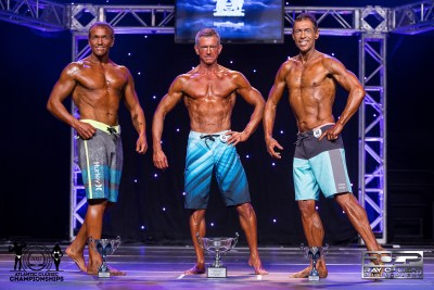 I-Grandmaster 50+ Mens Physique Top 3