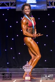 Overall Womens Physique Candice McLean