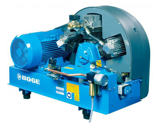 Boge Booster Compressors - Flexible, cost effective, and energy efficient solution for generating up to 600 psi at point of use.