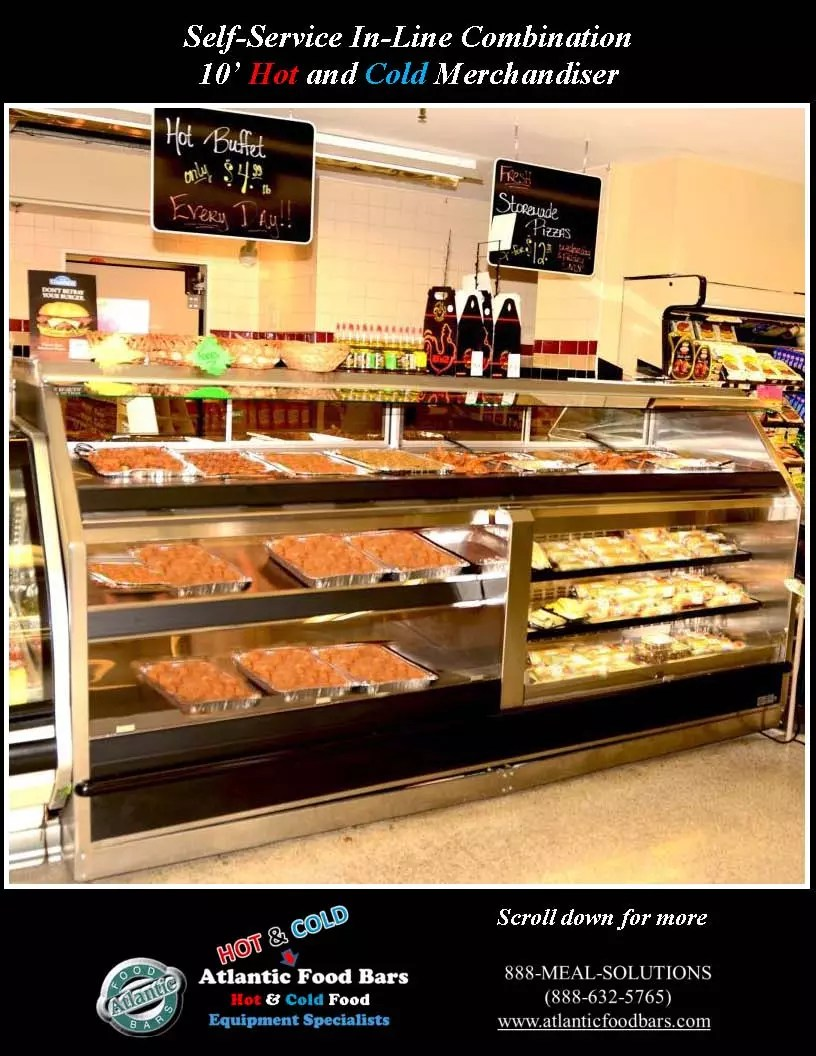 Atlantic Food Bars - 10' Combination Hot Top with Hot & Cold Bottom - Custom_Page_1