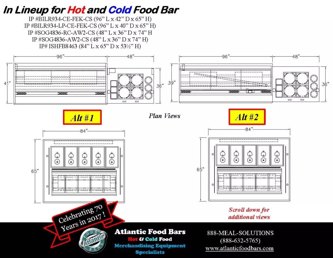Atlantic Food Bars - Hot and Cold Display Case Lineup Drawings - BILR SOG ISHFB_Page_3