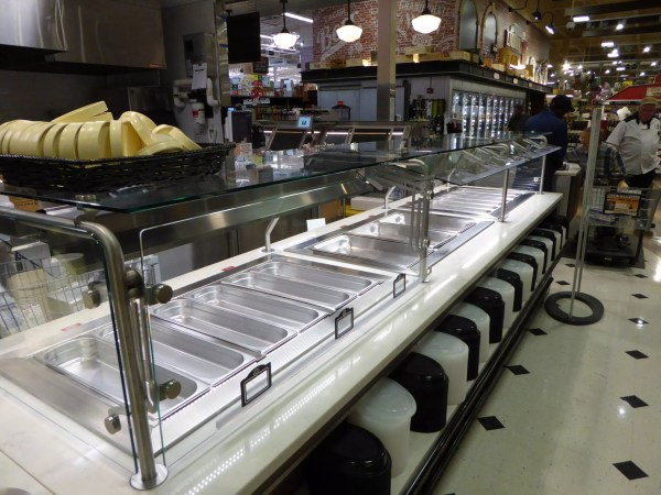 Convertible Hot Cold Food Lineup with Soup Counter Goes from Full to Self Service - Atlantic Food Bars - HCCSFB15640 SW4840 3