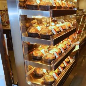 Multi-Level Hot Grab & Go Merchandiser with Flat Front Profile - Atlantic Food Bars - WRT-N-F 1