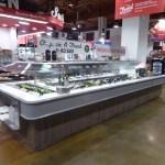 Island Soup Salad Hot Food Bar with Column Notch - Atlantic Food Bars - ISSHFB13070 SW7054 1