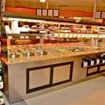 Custom Nantucket - Combination Island with Hot Packaged Food Over Hot Bulk Food, Hot Soup and Salad Bar - Atlantic Food Bars 3