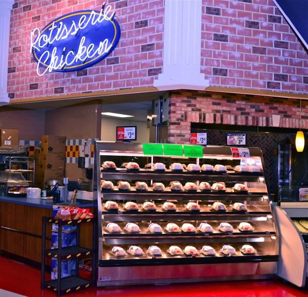 Five Level Hot Chicken Case - Wrangler Giant - Atlantic Food Bars - WR9629T-AS2-SRM 1
