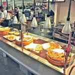 Full Service Hot Bistro Merchandiser on Pedestal Base - Atlantic Food Bars - IPS14436-P 1