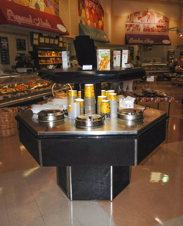 Hexagon Island Soup Bar - Atlantic Food Bars - HXH 1