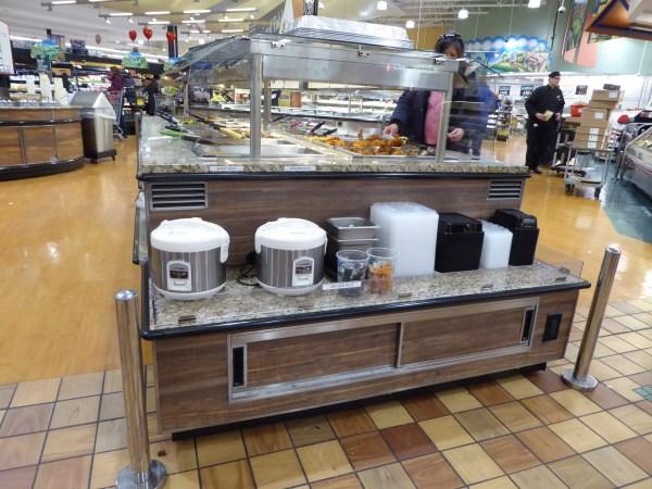 Island Hot Food Bar with Induction Hot Wells - Atlantic Food Bars - IHFB12666-IHW 5