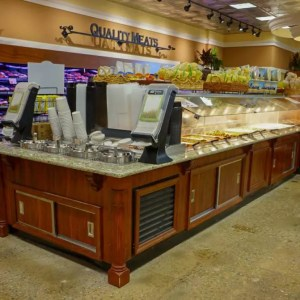 Island Salad Hot Food and Soup Bar - Estate Series - Atlantic Food Bars - ISHFB15663-SBE 1