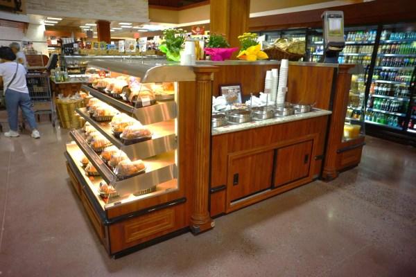 Low Profile Hot Chicken Case - 4-Level Baby Wrangler Giant - Soup Bar - Estate Series - Atlantic Food Bars - WRGCL6534 SW6530 1