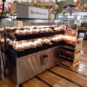 Mobile Hot Grab & Go Merchandiser - Two Level - Atlantic Food Bars - HHDD7236 1