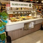 Narrow Air Underflow Refrigerated Island Salad & Olive Bar - Atlantic Food Bars - CISB7352 1