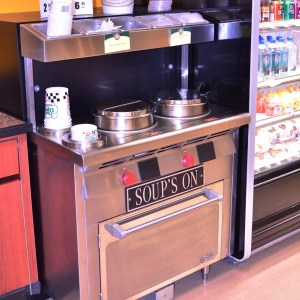 Narrow Soup Bar and Chowder Station - Soup's On - Atlantic Food Bars - SOG3618N 1