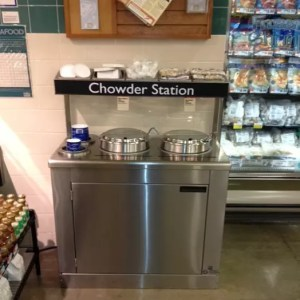 Narrow Soup Bar and Chowder Station - Soup's On - Atlantic Food Bars - SOG3618N 3