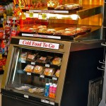 One Sided Combination Hot Over Cold Packaged Food Case - Atlantic Food Bars - HCWT3642 1