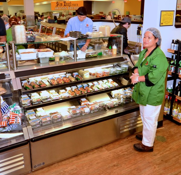 Sushi Bar and Sandwich Prep Station - Atlantic Food Bars - SILR 1