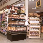 Three-Level Hot Grab & Go Checkout Lane Case - Atlantic Food Bars - ECE3-3635 1