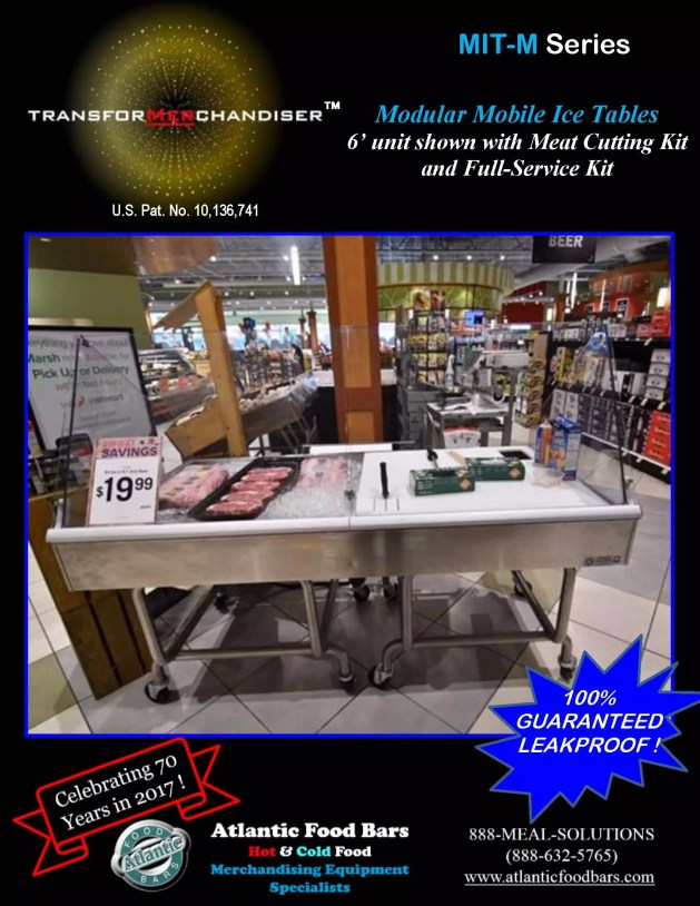 Atlantic Food Bars - Modular Mobile Ice Tables - Sell Meat, Seafood, Produce and more with Interchangeable Kit System - The transforMerchandiser_Page_2
