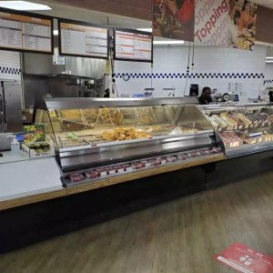 Flexible Full Service Hot Food Bars - Countertop or Free-Standing with Base - Atlantic Food Bars - SHFBBK9638 1