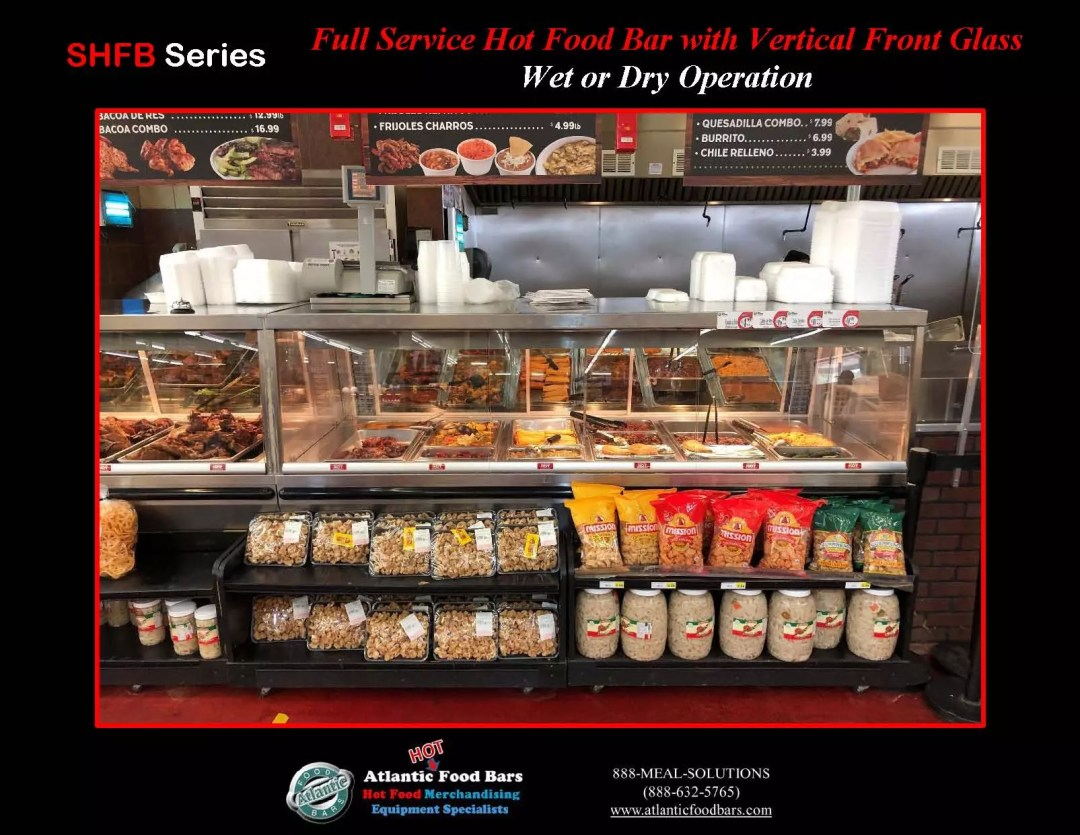 Atlantic Food Bars - Full Service Hot Food Bar with Vertical Front Glass - Wet or Dry Operation - SHFB_Page_3