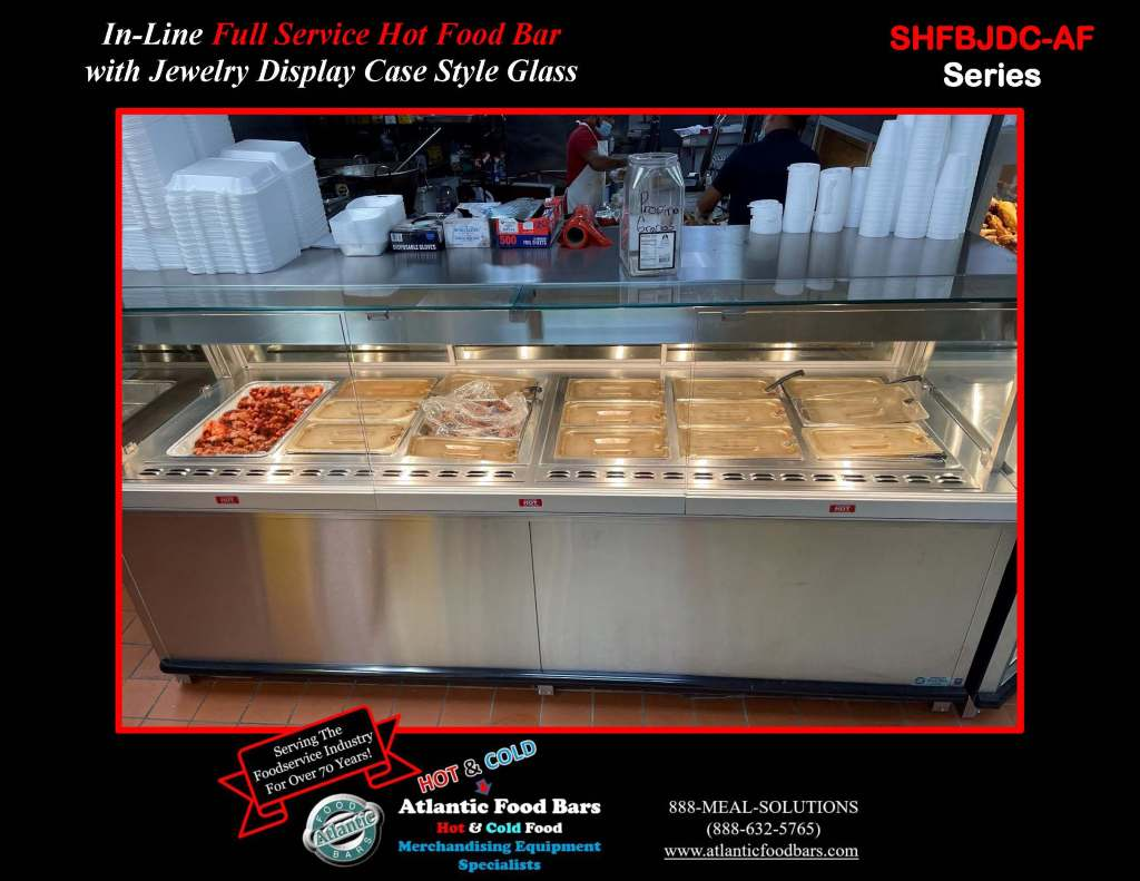 Atlantic Food Bars - Full Service Hot and Cold Deli Lineup with Jewelry Display Tops, Grab n Go and Dry Merchandising Wedge - SHFBJDC9639-AF, DCW4839, ILRTTN7248_Page_3