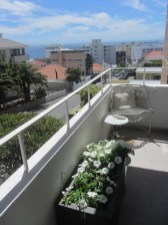 Portman Place 1 bedroom Apartment Bantry Bay bedroom Atlantic Letting luxury Holiday accommodation rental property Cape Town balcony photo image