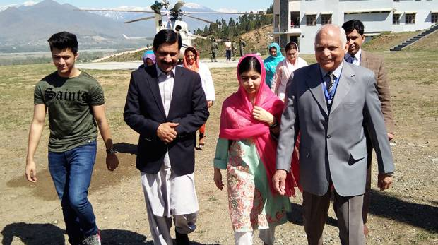 Malala in Swat Valley