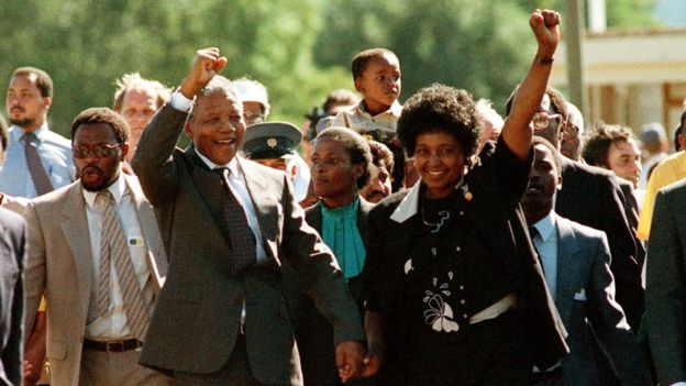 Winnie and Mandela
