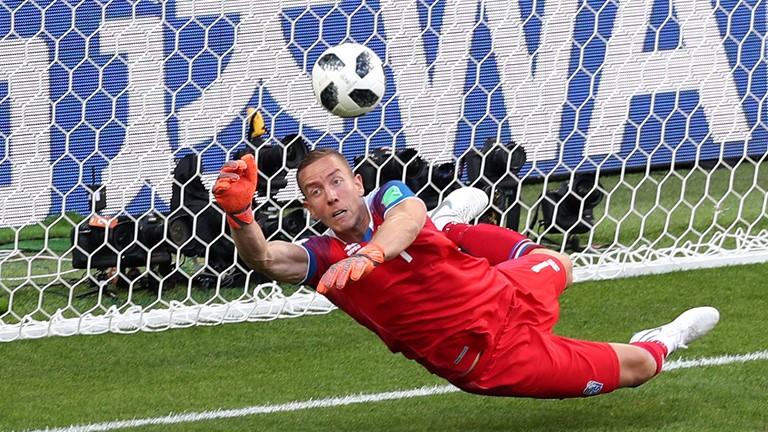 Iceland keeper says he studied Messi to deny him