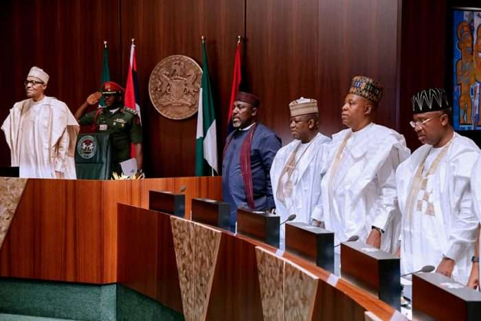 Minimum Wage: 36 Nigerian Governors End Meeting With Buhari