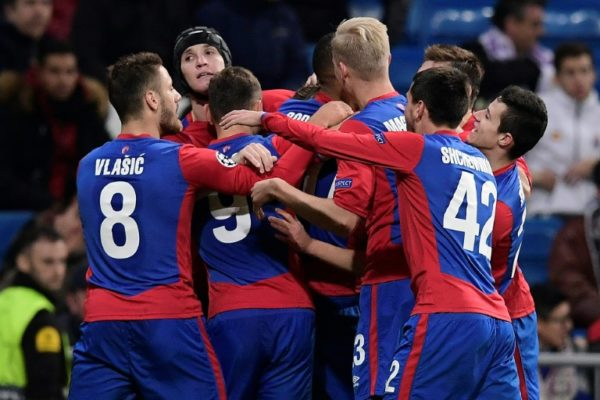 CSKA Moscow Shock Madrid At Santiago Bernabeu