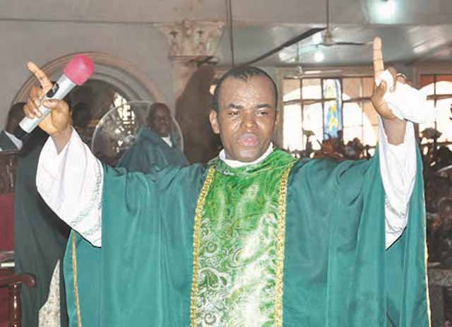 Gunmen Attack Father Mbaka: Spokesman
