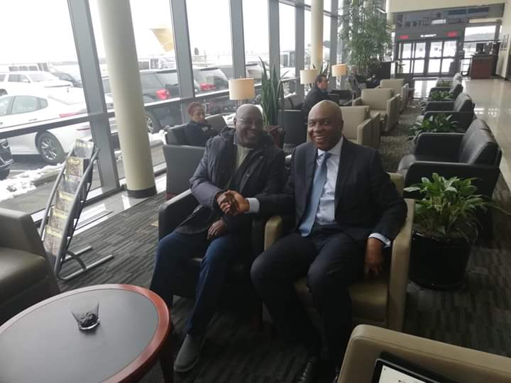 Confirmed: Atiku Arrives Washington D.C.