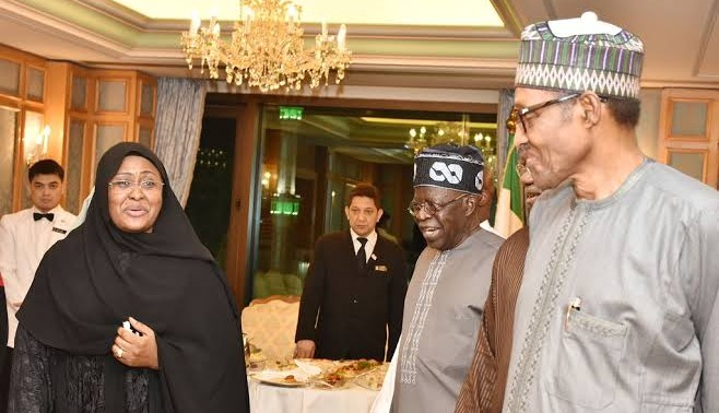 Tinubu Meets Buhari In Mecca, Urges Elders To Exercise Caution In Statements