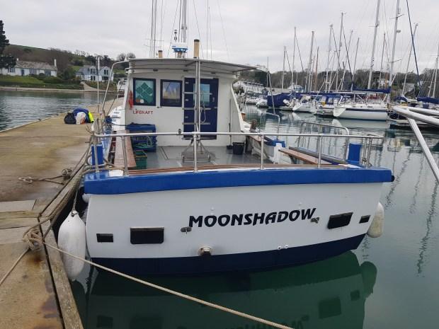 Moonshadow hard boat diving