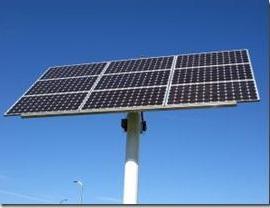 solar with pole