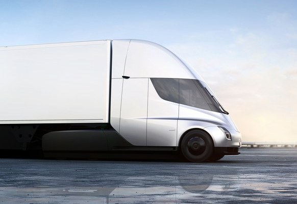 tesla electric trucks