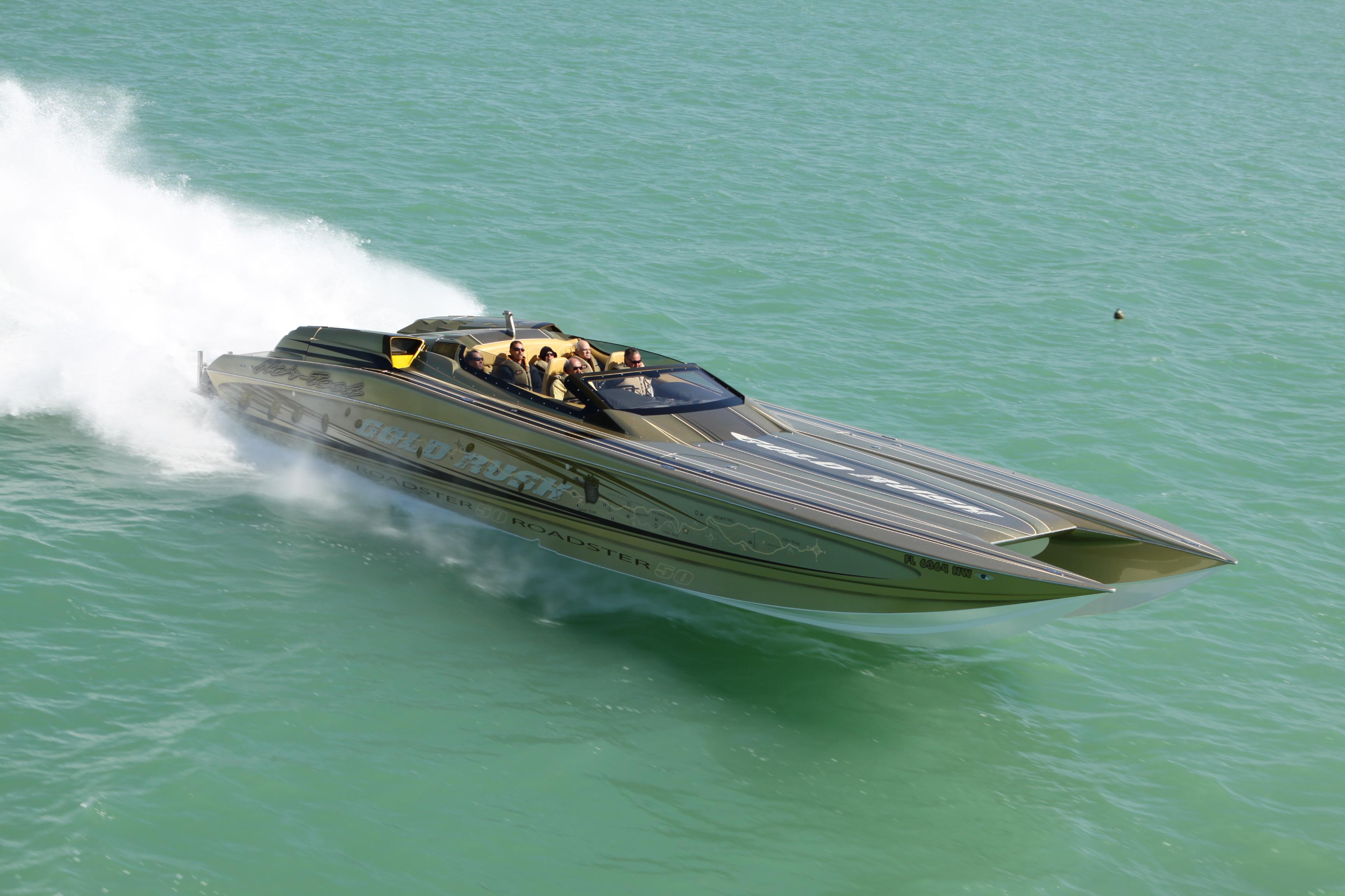 Key West Poker Run 50 Nortech Go Fast Boat Atlantic