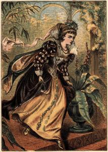 Cenuşăreasa. O ilustrație din 1865