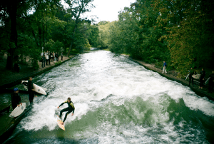 Surf in Munich