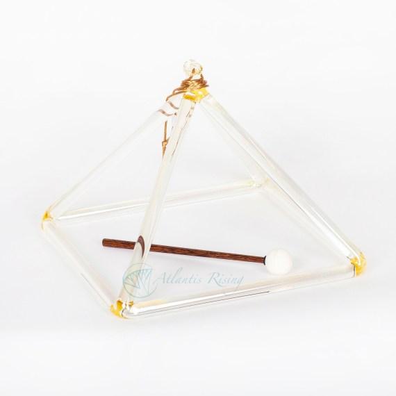"""Lemon Aura Gold Pyramid 10"""" D#"""